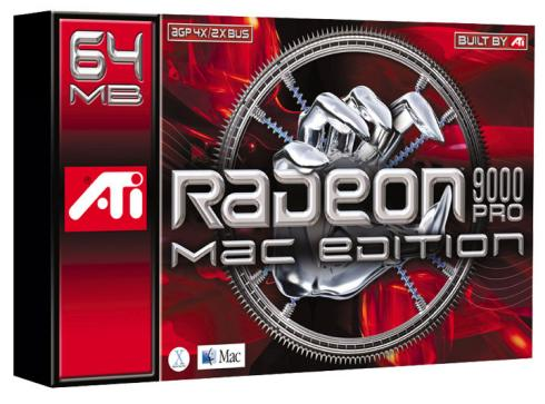 ATi Radeon 9000 Pro Mac Edition box