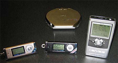 iRiver MP3-spelers