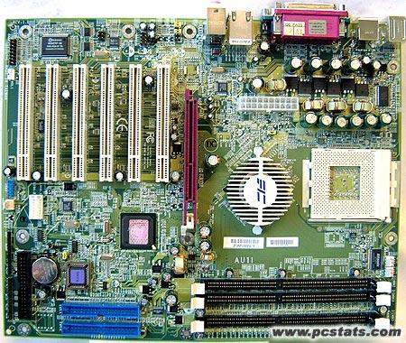 FIC AU11 nForce2 moederbord