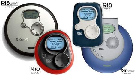 Nieuwe MP3-speler Rio