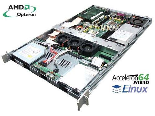 Einux Acceleron dual Opteron-server