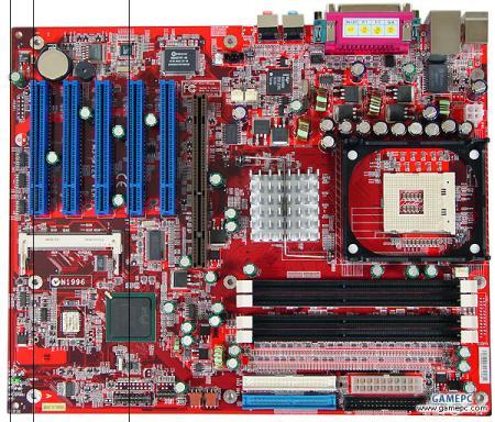 MSI E7205 Master-L moederbord (450px breed)