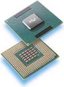Intel Pentium-M processor-shot