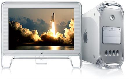 Apple Power Mac met LCD display