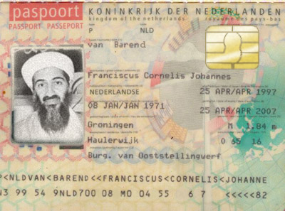 Artist impression biometrisch paspoort