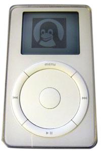 Linux op de iPod