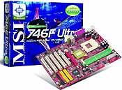 MSI 746F Ultra moederbord