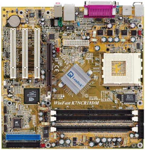 Leadtek moederbord K7NCR18DM