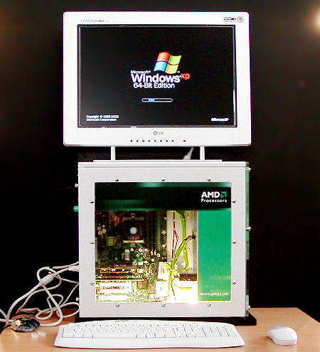 Windows XP 64-bit Edition bootend op AMD Athlon 64 (450px)