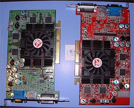 ATi R350 en RV350