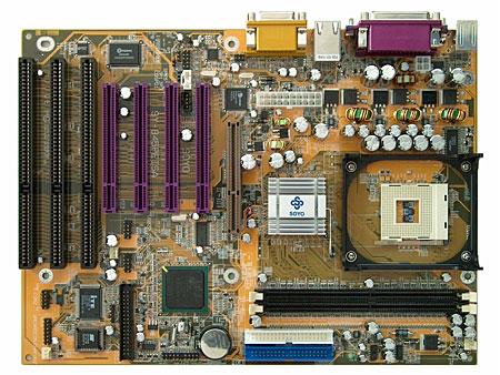 SY-P4I 845PE ISA moederbord