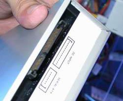 Serial ATA CD-ROM speler
