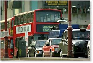 Verkeer in Londen