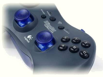 Logitech Cordless Gamepad (knopjes)