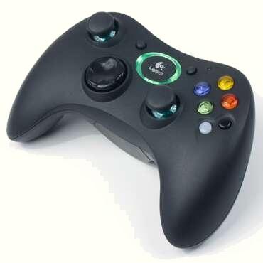 Logitech X-box controller