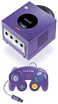 Nintendo GameCube (paars, kleiner)