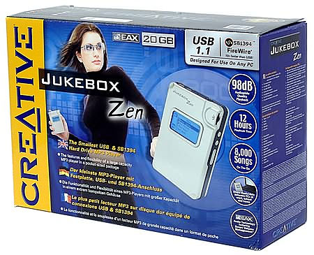 Creative Nomad Jukebox Zen doos