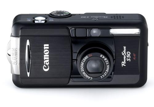 Canon PowerShot S50 (groot)