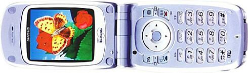 NTT Docomo GSM-toestel met 3D display