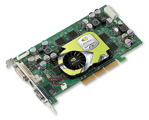 GeForce FX kaart