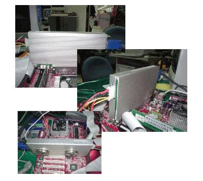Leadtek WinFast A300TD in systeem