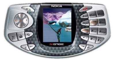 Nokia N-Gage (witte achtergrond)