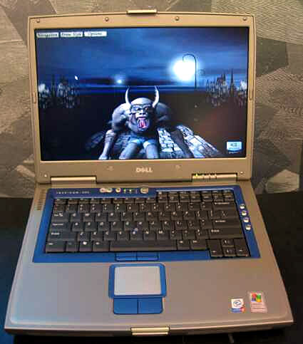 Dell Inspiron 8500 notebook