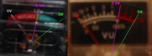 Vu-meter HDD activiteit
