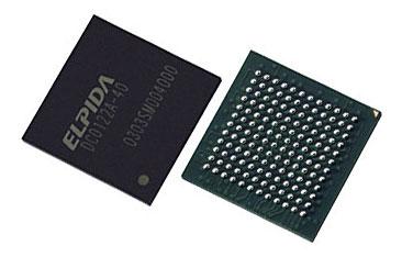 Elpida GDDR-2M chips