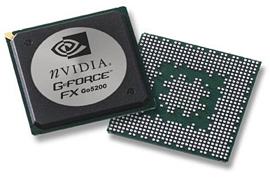 GeForce FX Go 5200 chip