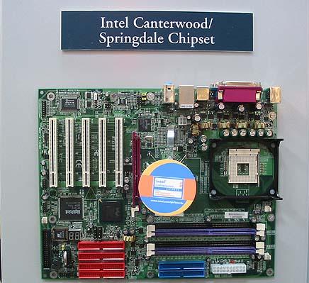 Moederbord met Canterwood chipset