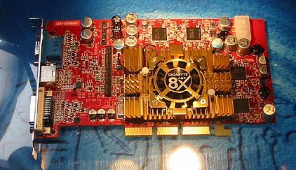 Gigabyte GV-R9800 videokaart