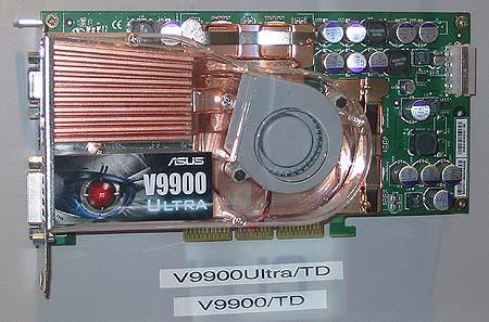 Asus V9900 series videokaart