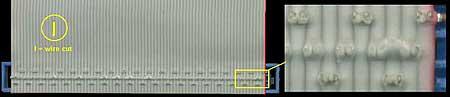 Open ATA-66 stekker