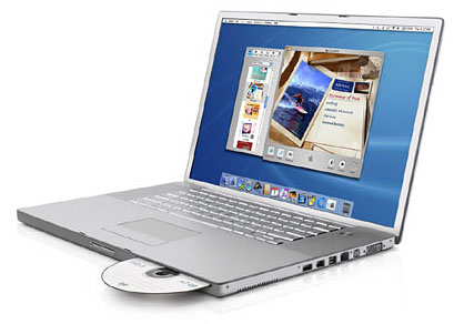 Apple Powerbook met 17-inch scherm