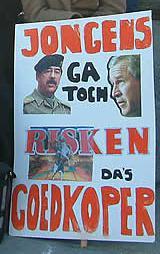 Oorlog Irak Protest