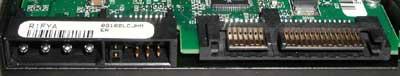 Maxtor S-ATA DiamondMax Plus 9 met normale molex-aansluiting