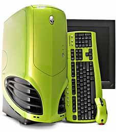 Alienware case (groen)