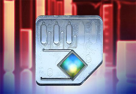 Flow-Thru Chip system