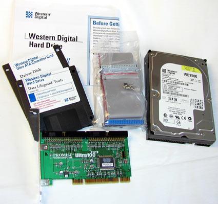 Western Digital WD2500JB retailverpakking