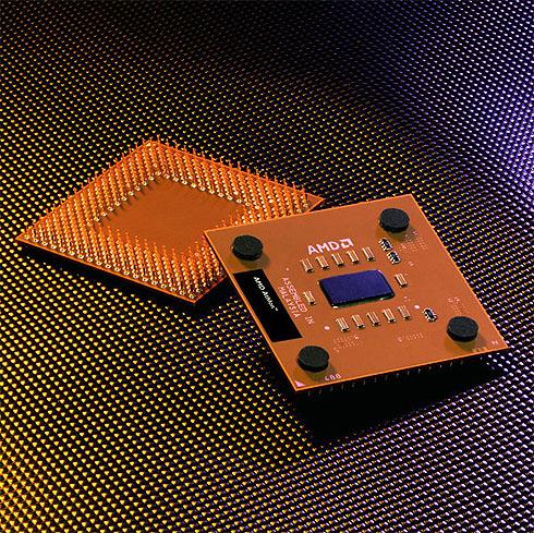 AMD Athlon XP 3000+ perspic