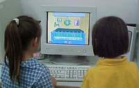 Kinderen achter de computer
