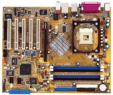 Asus P4C800 i875 moederbord