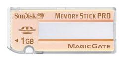 Sony Memory Stick Pro 1GB