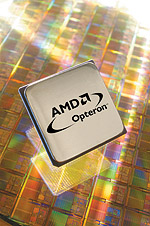 AMD Opteron perspic - chip background (klein, lang)
