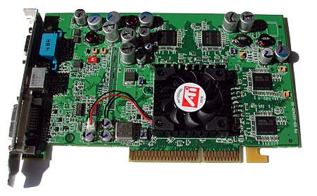 Radeon 9600 kaart