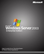 Windows Enterprise Server 2003 Box klein
