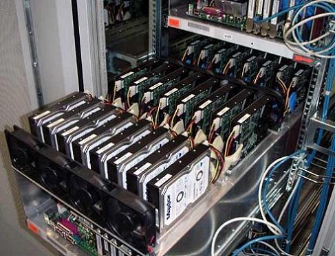 IDE ATA-backupsysteem Universiteit van Tubingen