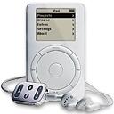 Apple iPod met snoer (klein)