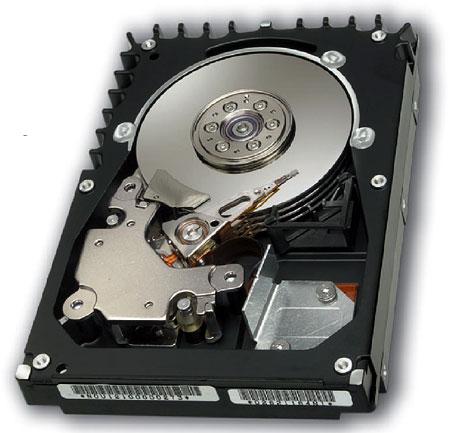 Fujitsu MAS3735 15,000rpm harddisk
